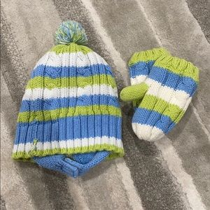 Other - Knit hat&gloves